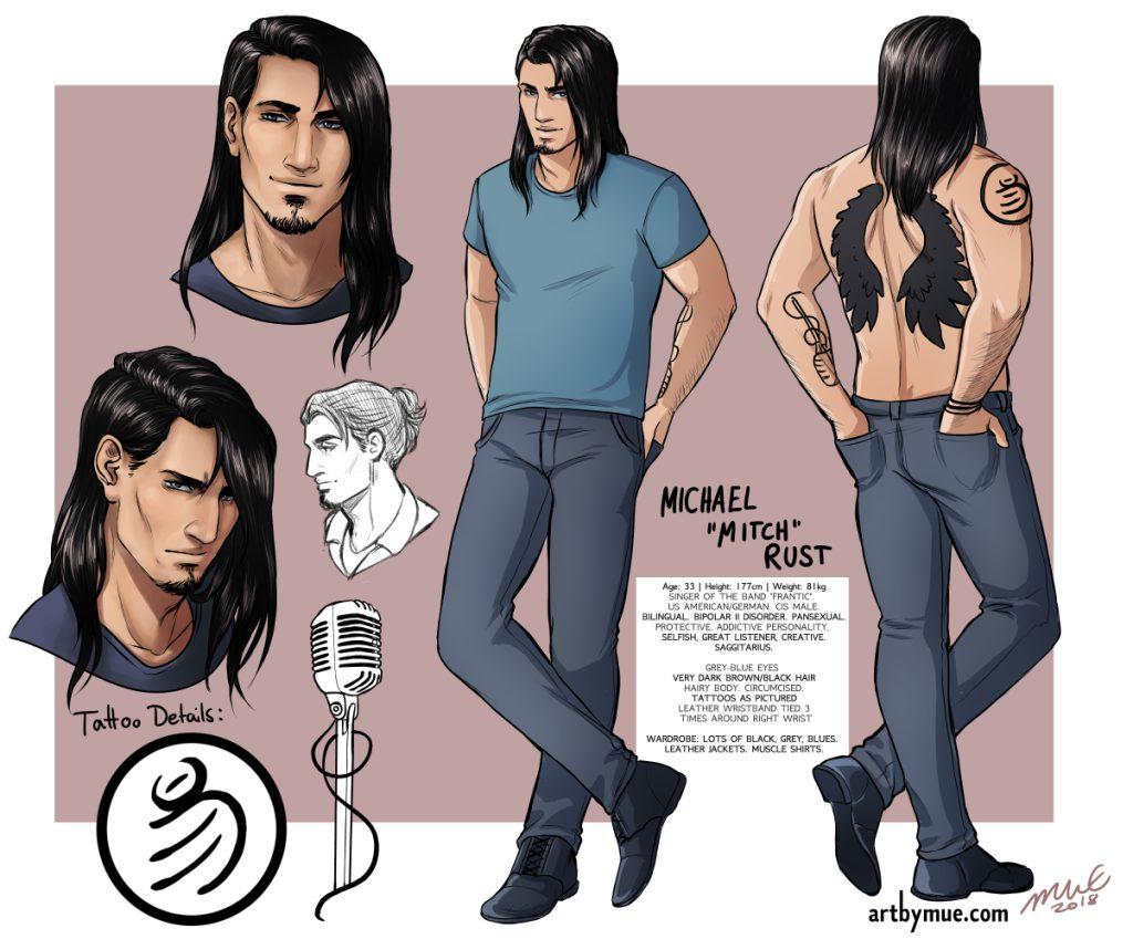 Mitch Character Sheet